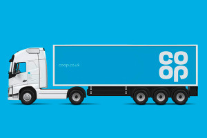 Co-op-Lorry